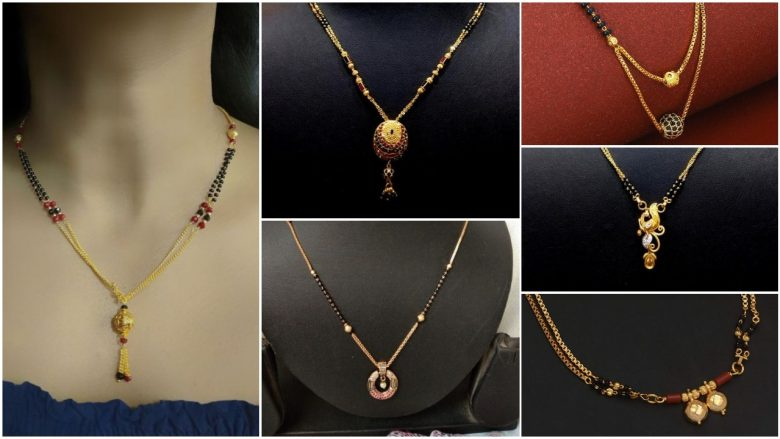 20 Modern short mangalsutra designs for a sleek and stylish look