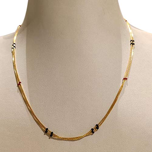 20 Modern short mangalsutra designs for a sleek and stylish look 13