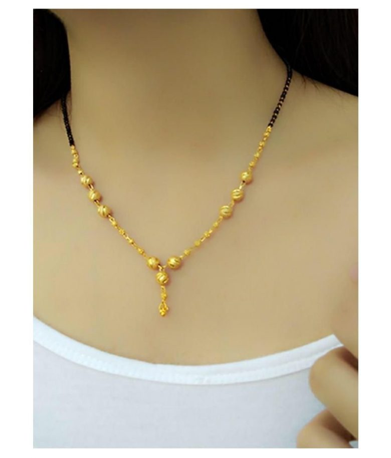 20 Modern short mangalsutra designs for a sleek and stylish look 15