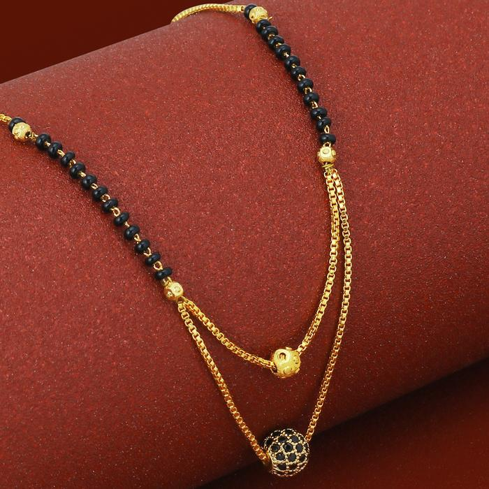 20 Modern short mangalsutra designs for a sleek and stylish look 3
