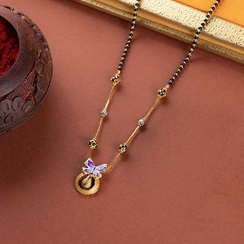 20 Modern short mangalsutra designs for a sleek and stylish look 8