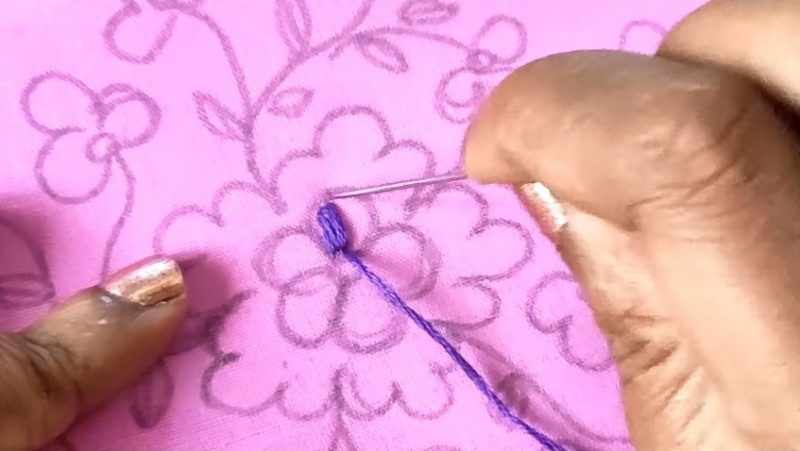 stitching with a normal needle