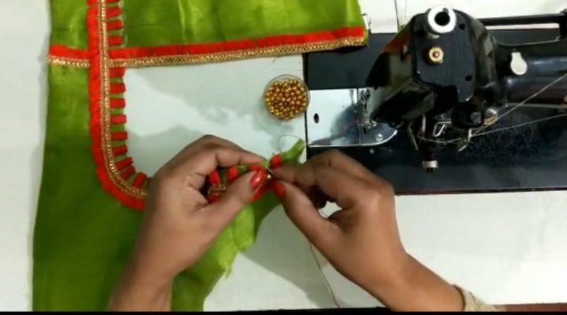 sewing beautiful golden beats