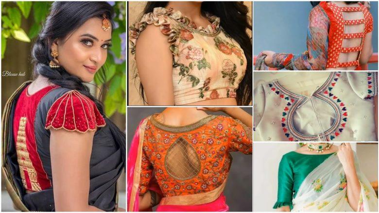 Best saree blouse designs images