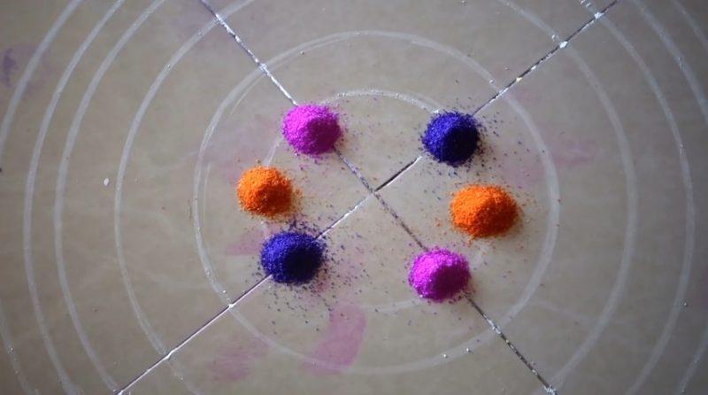 Colorful attractive and unique rangoli design for festivals 2