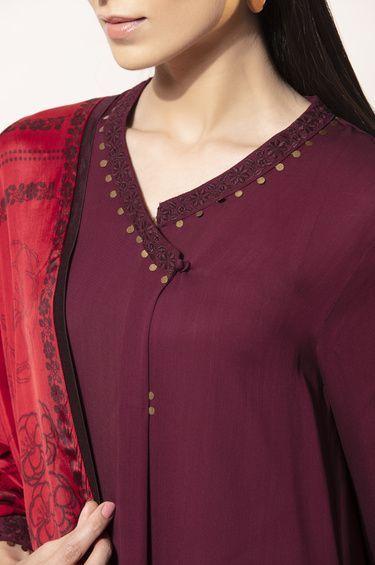 trendy kurti neck stylish design