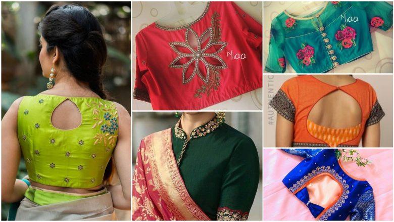 Designer blouses images