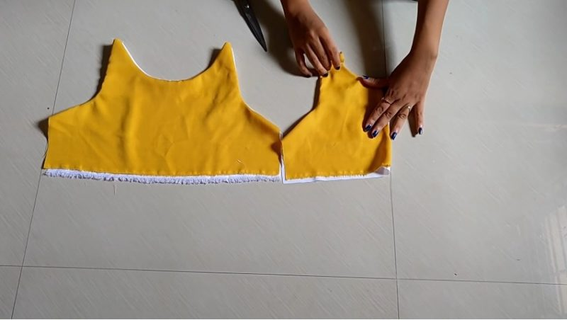 Designer cute baby frock for 1-2 year baby girl3