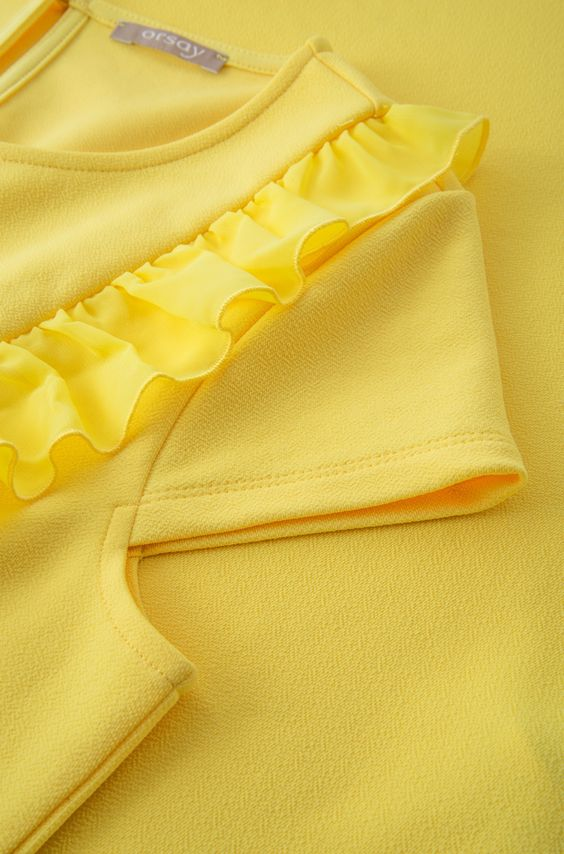 beautiful yellow designer sleeve