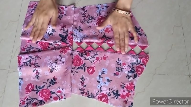 Designer sleeves cutting and stitching 15