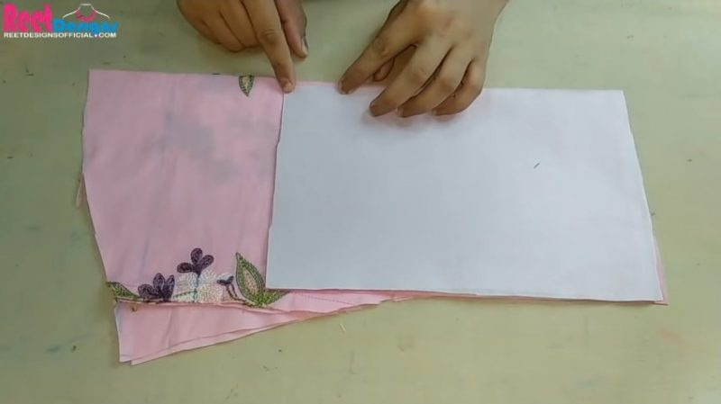Designer sleeves cutting and stitching 18