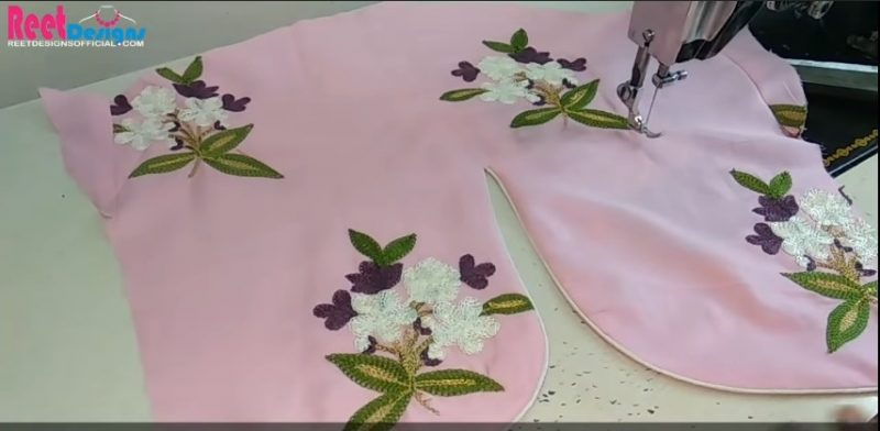 Designer sleeves cutting and stitching 27
