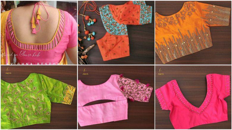 Evergreen and trendy saree blouse design