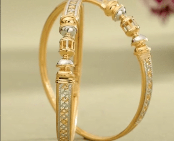 Exclusive gold bangles designs 1