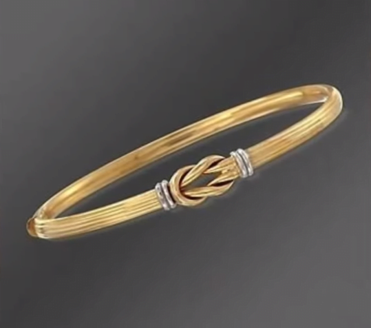 Exclusive gold bangles designs 19