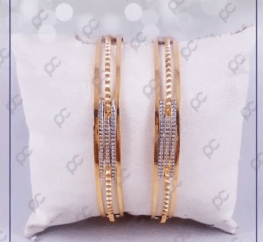 Exclusive gold bangles designs 2