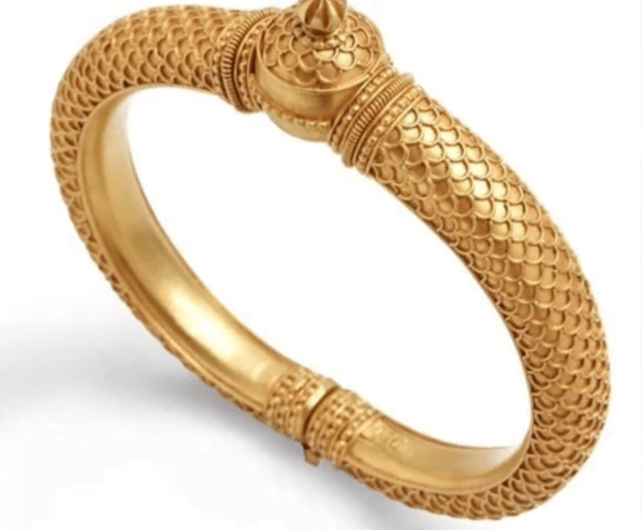 Exclusive gold bangles designs 22