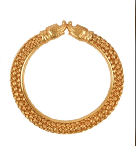 Exclusive gold bangles designs 26