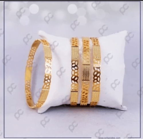 Exclusive gold bangles designs 5