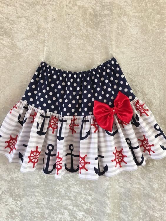 Girls skirt patterns 8