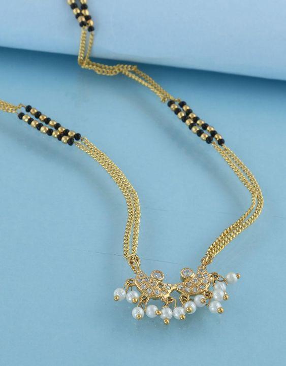 black beads work mangalsutra design5