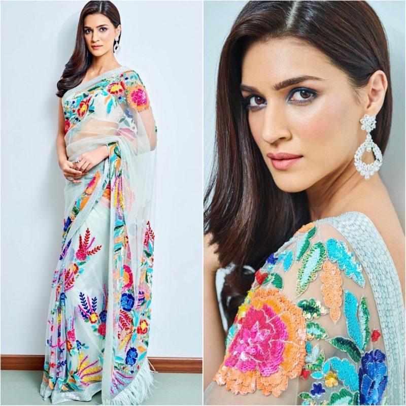 Latest bollywood designer sarees for elegant look 14