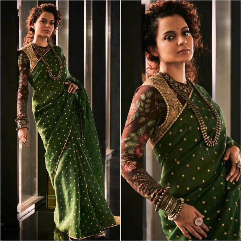 Latest bollywood designer sarees for elegant look 12