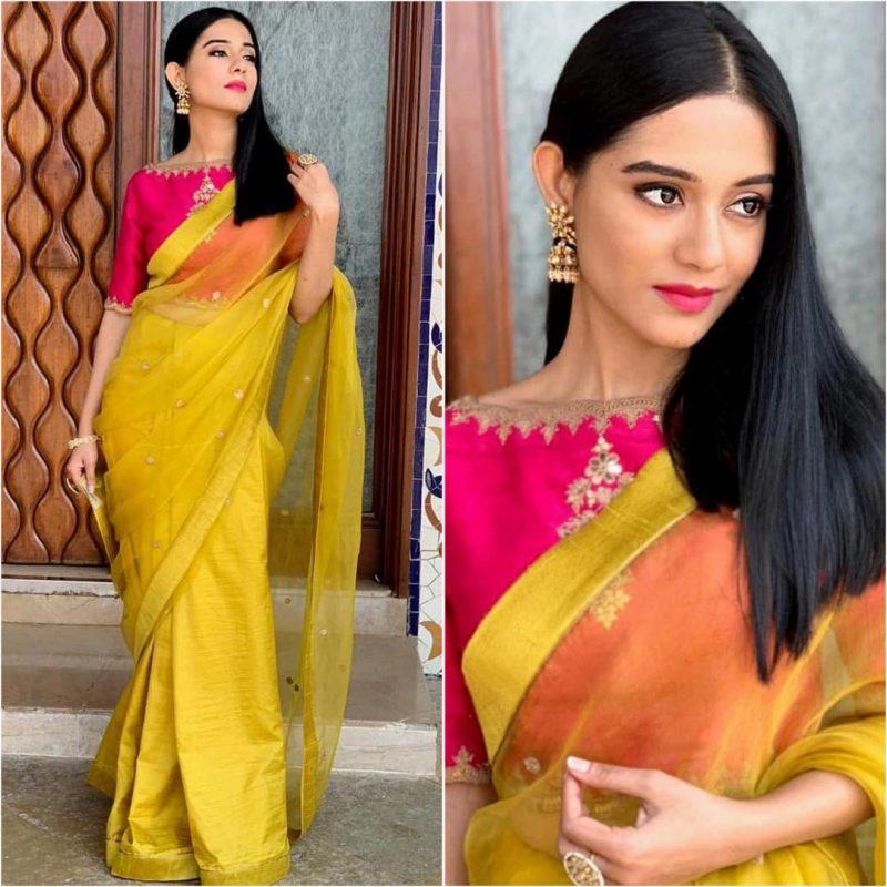 Latest bollywood designer sarees for elegant look 7