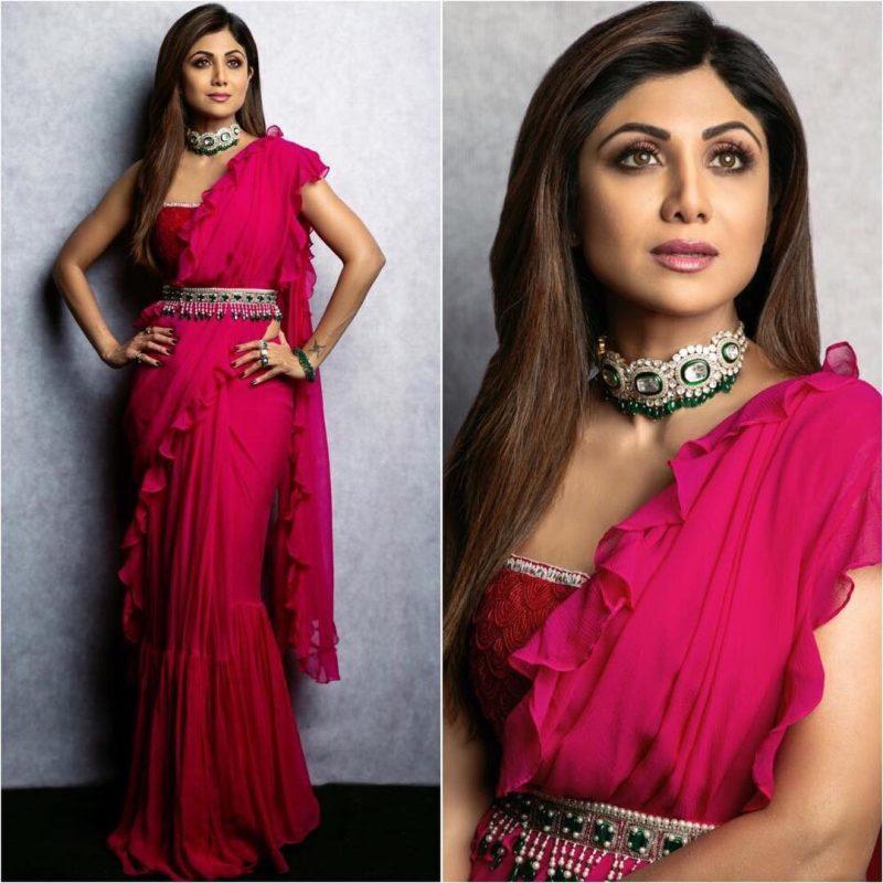 Latest bollywood designer sarees for elegant look 10