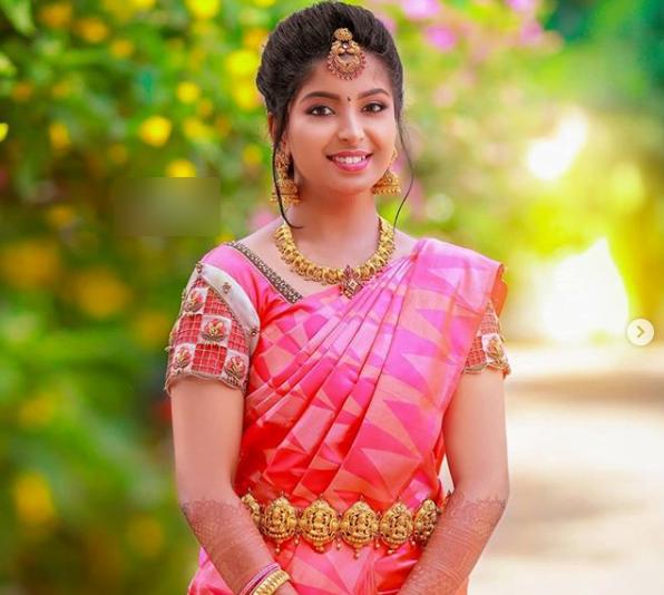 Latest bridal blouse designs for pattu or silk sarees 4