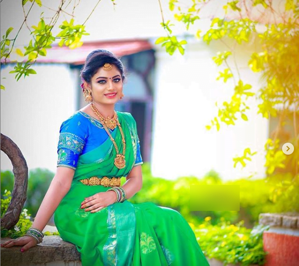 Latest bridal blouse designs for pattu or silk sarees 5