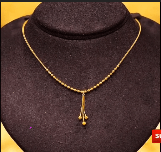 Latest daily wear gold chain designs 1