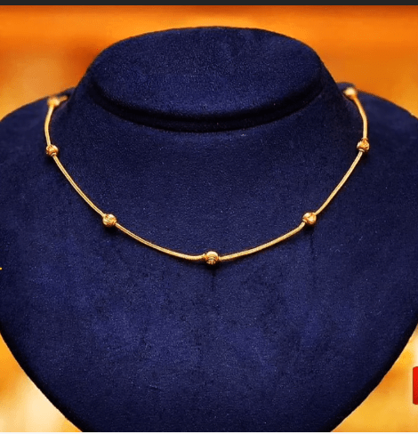 Latest daily wear gold chain designs 11