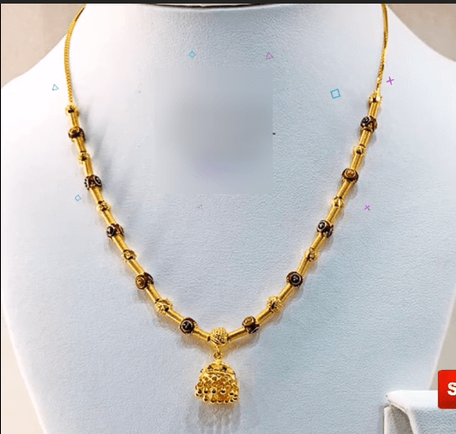 Latest daily wear gold chain designs 14
