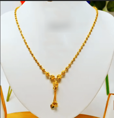 Latest daily wear gold chain designs 17