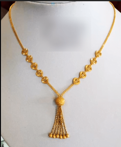 Latest daily wear gold chain designs 21