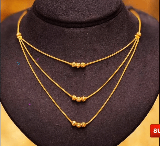 Latest daily wear gold chain designs 3