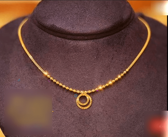 Latest daily wear gold chain designs 5
