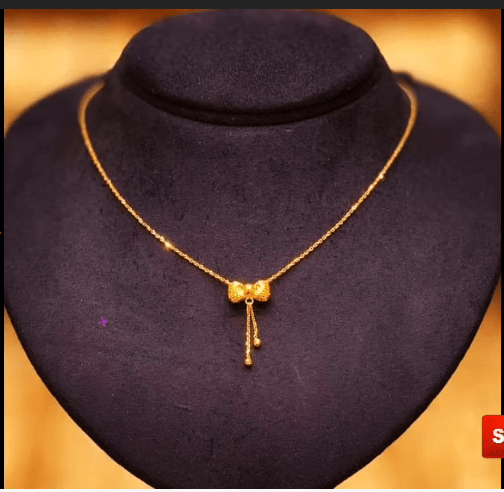 Latest daily wear gold chain designs 7