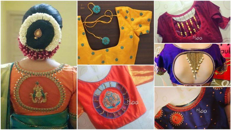Latest designer blouse design