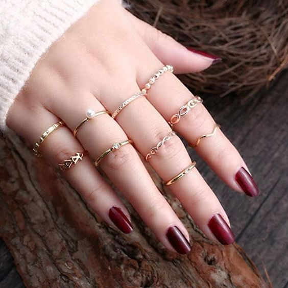 New gold ring designs for girls4