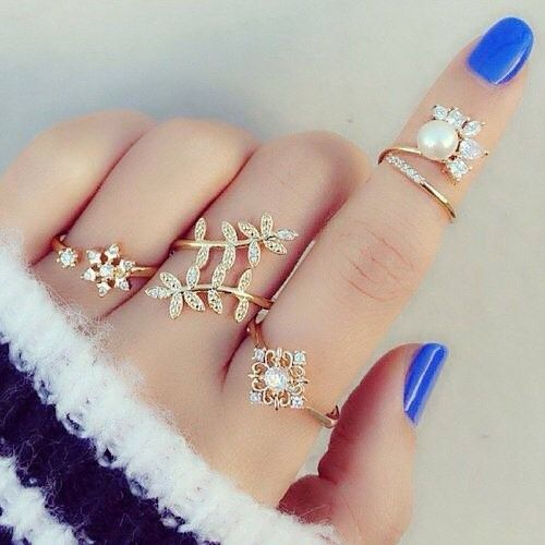 New gold ring designs for girls8