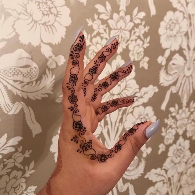 Simple arabic mehndi designs 10