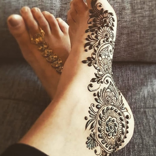 Simple arabic mehndi designs 4