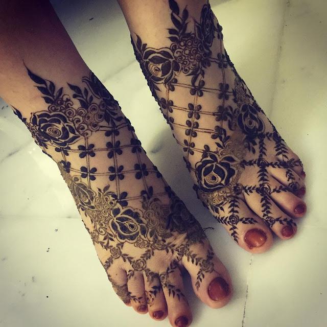 Simple arabic mehndi designs 6