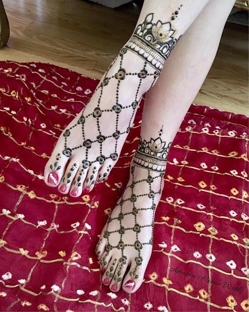 Simple arabic mehndi designs 7