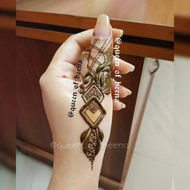 Simple arabic mehndi designs 19