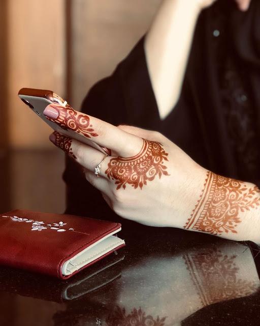 Simple arabic mehndi designs 24