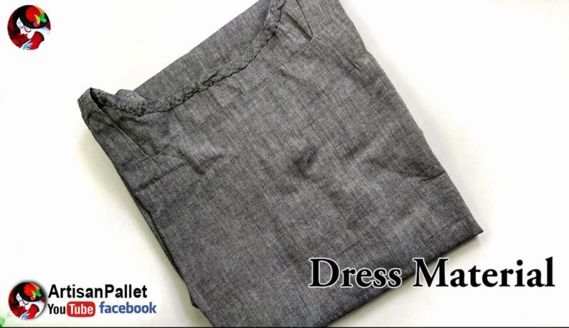 gray color churidar top