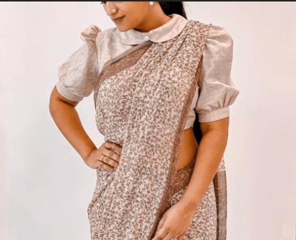 Stylish blouse sleeve designs 16